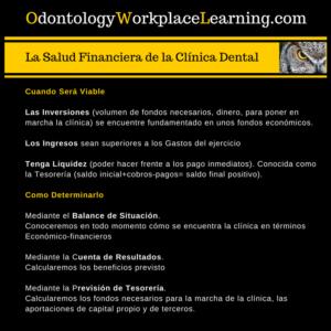 La Salud Financiera de la Clínica Dental